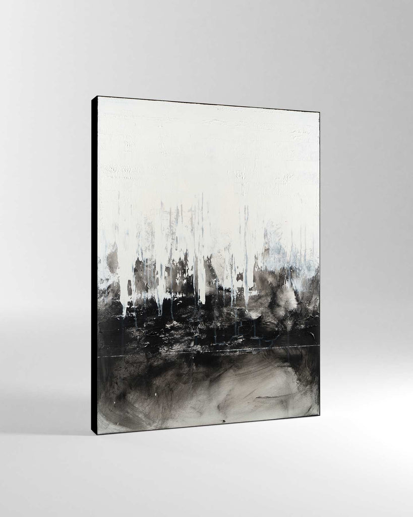 Canvas Print /  Abstract 444-001 / Portrait Orientation