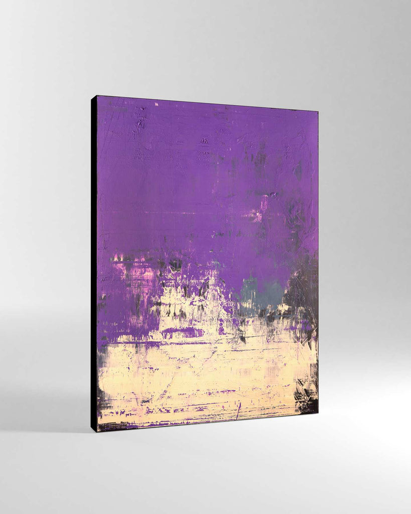 Canvas Print /  Abstract 444-007 / Portrait Orientation