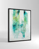 Canvas Print /  Abstract 444-012 / Portrait Orientation