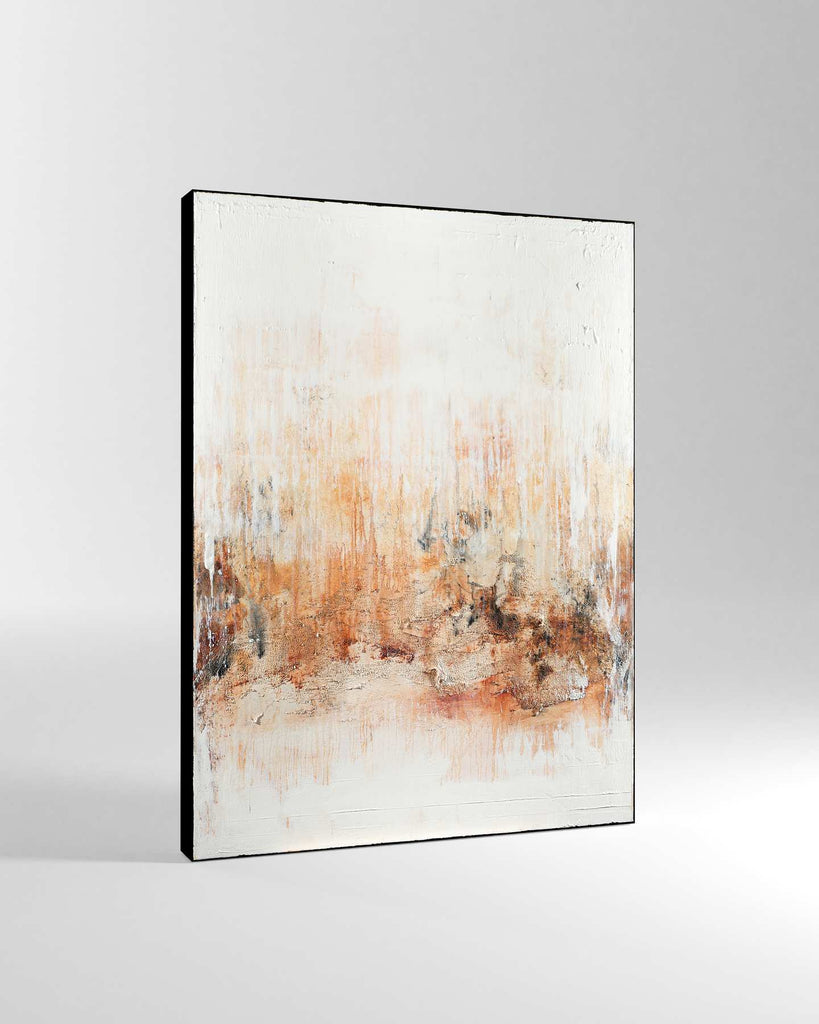 Canvas Print /  Abstract 444-017 / Portrait Orientation