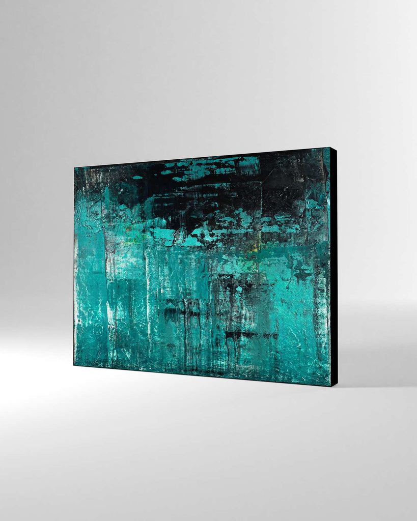 Canvas Print /  Abstract 444-031 / Landscape Orientation