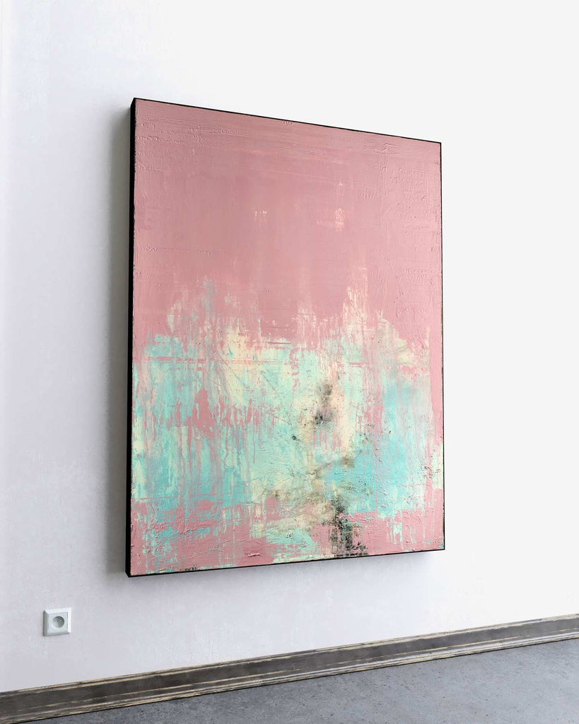 Blush Echo / 48''x 36''/ Acrylic on Canvas / 2020