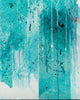 Ice Stone / 20''x 30''/ Acrylic on Canvas / 2021