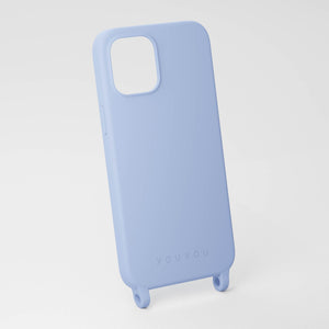 Baby Blue silicone phone case by XOUXOU