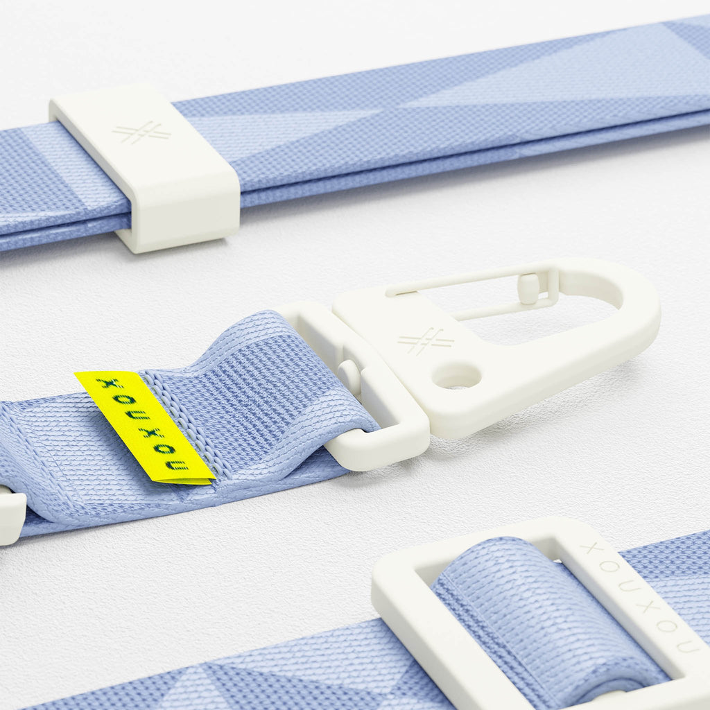 Baby Blue lanyard for Modular phone case by XOUXOU