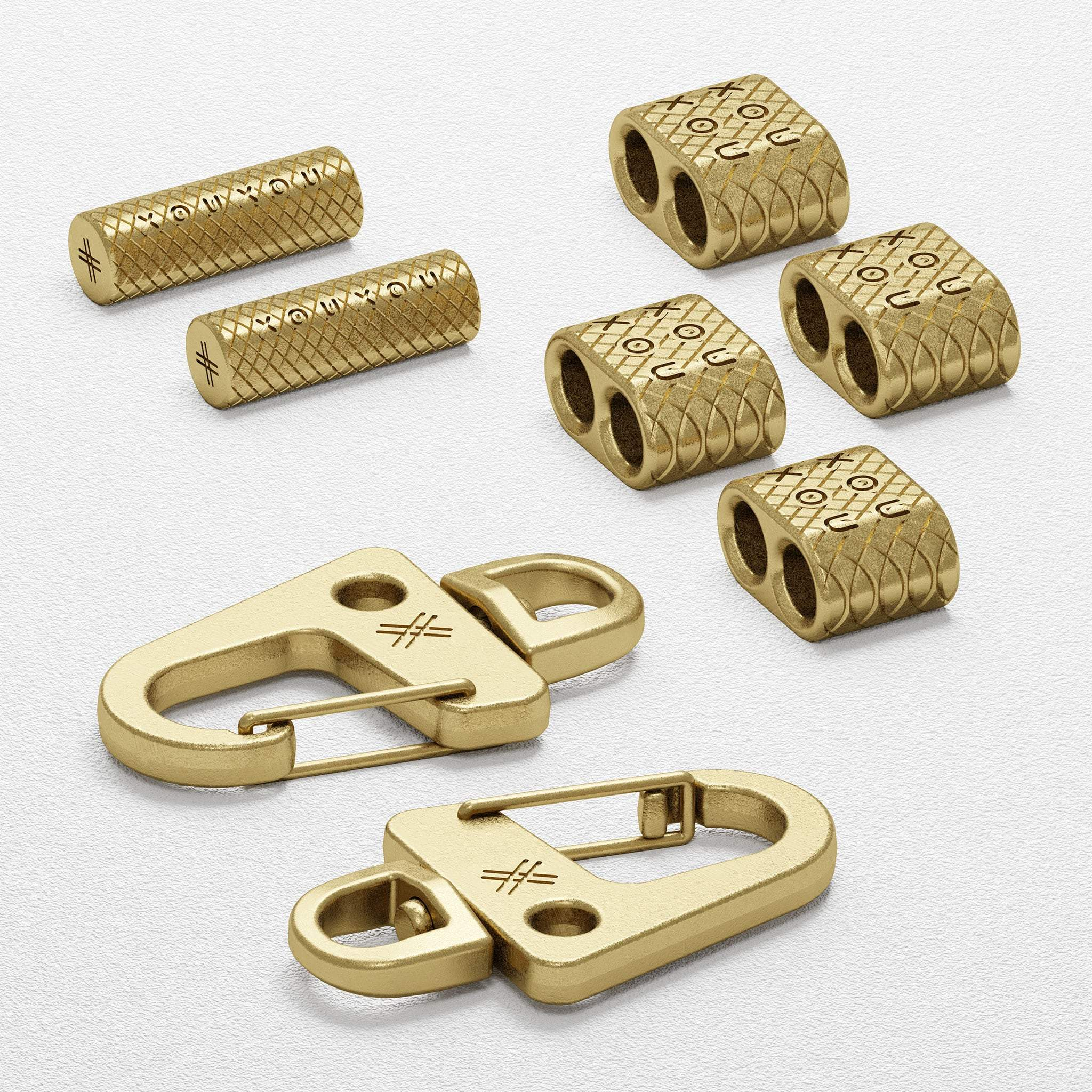 Brass Carabiner Rope Metal Parts
