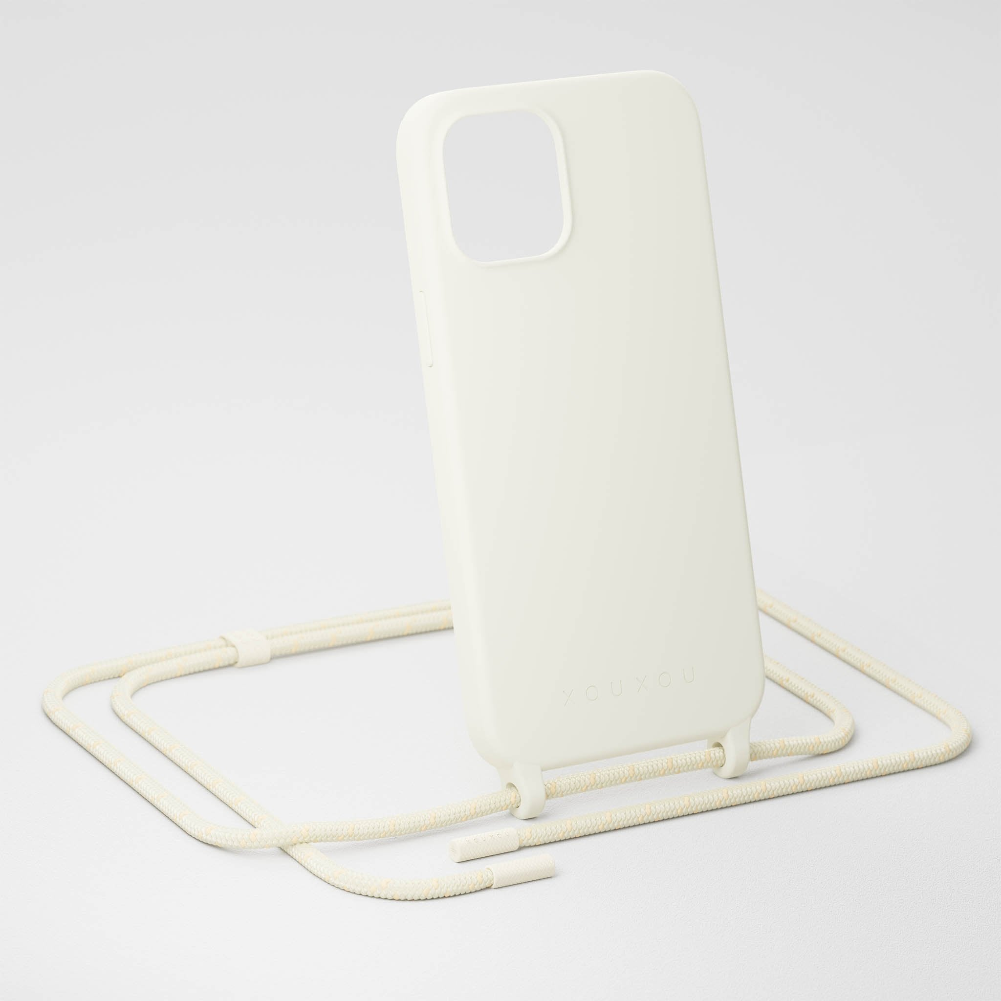 Chalk Silicone Case + Rope