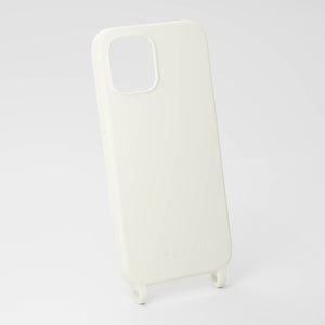 Chalk White silicone phone case by XOUXOU