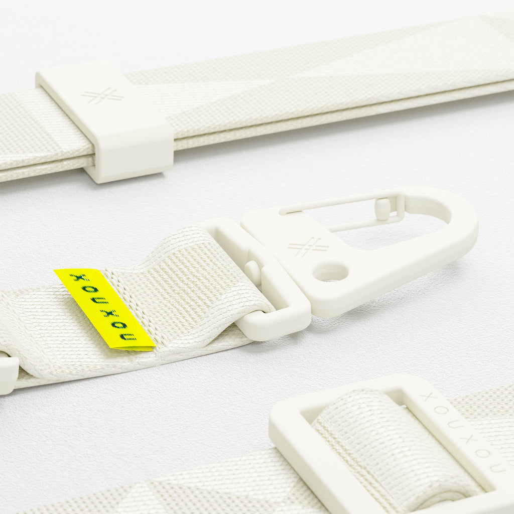 Chalk White lanyard for Modular phone case by XOUXOU