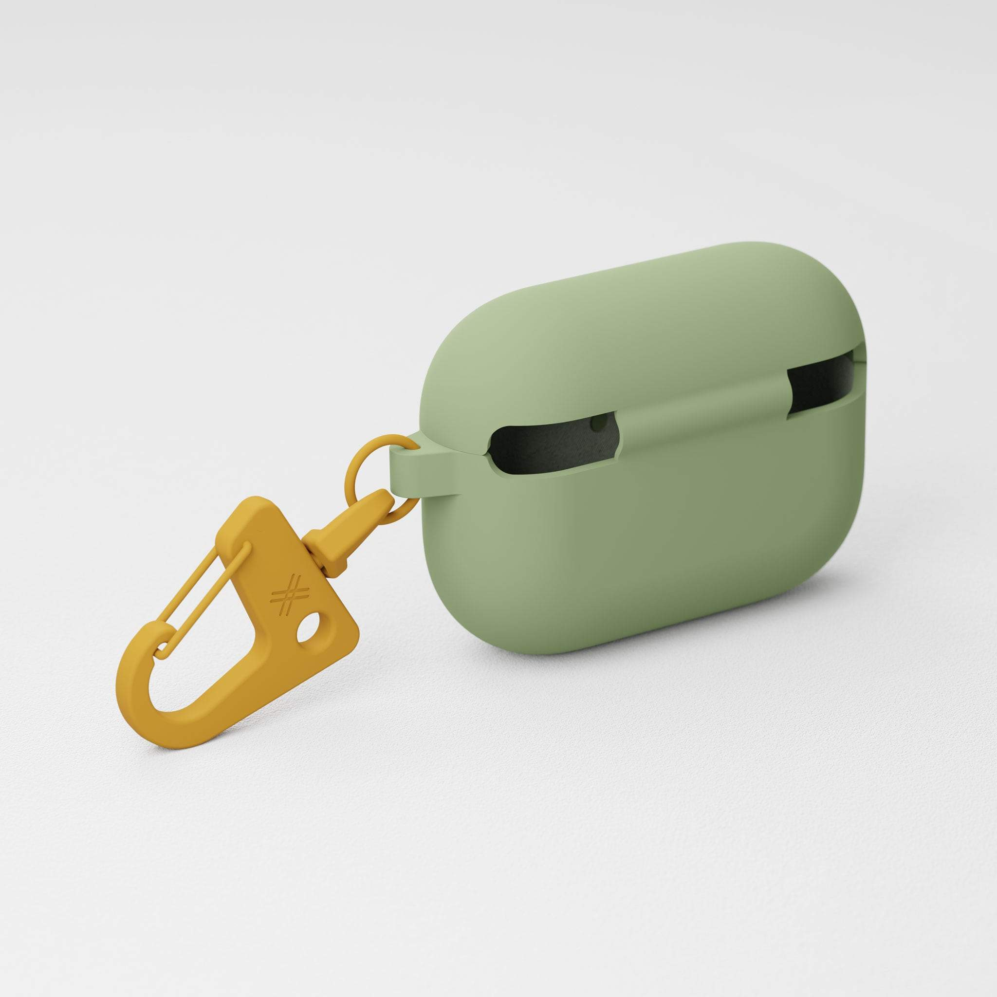 Light Olive Silicone AirPods Pro Case