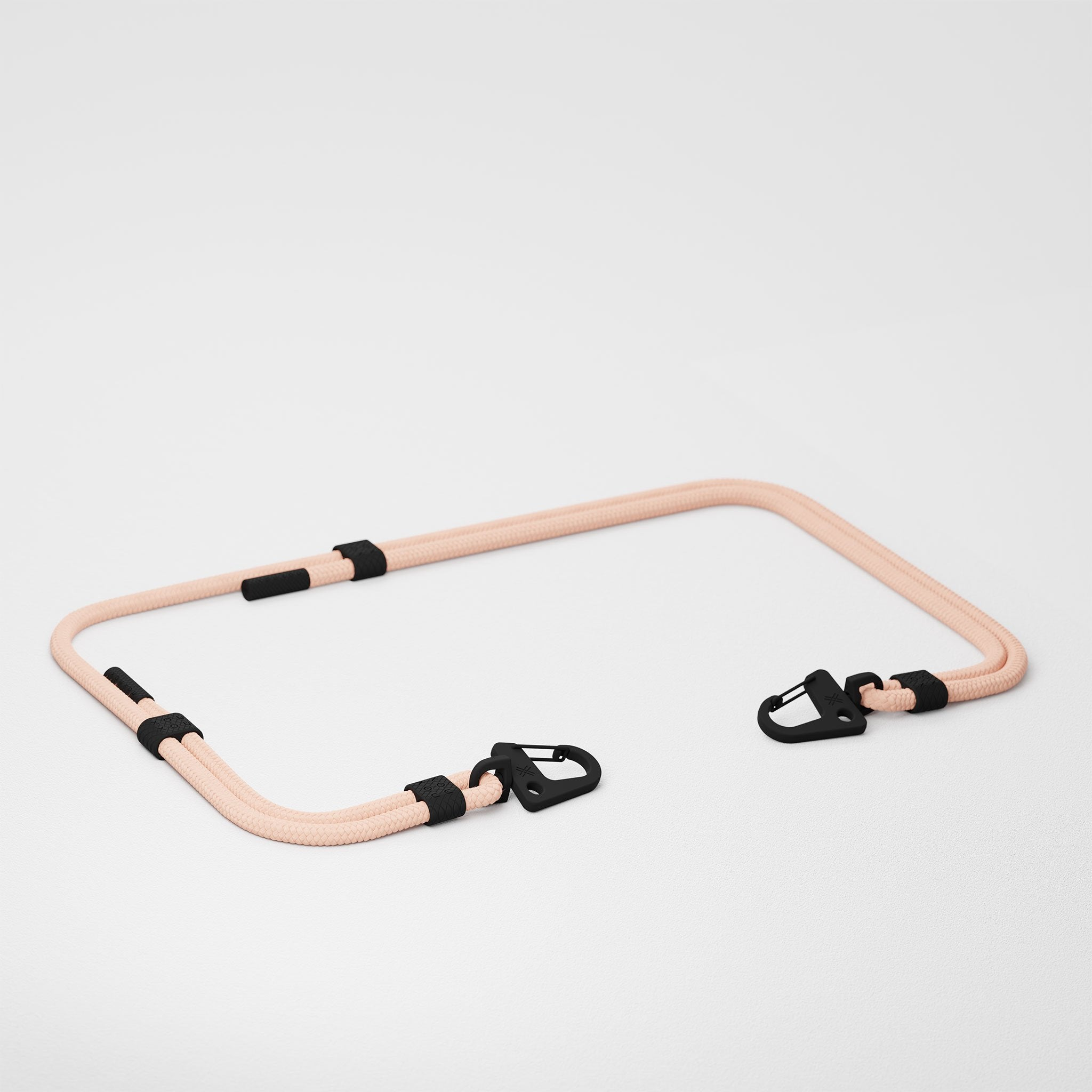Powder Pink Carabiner Rope