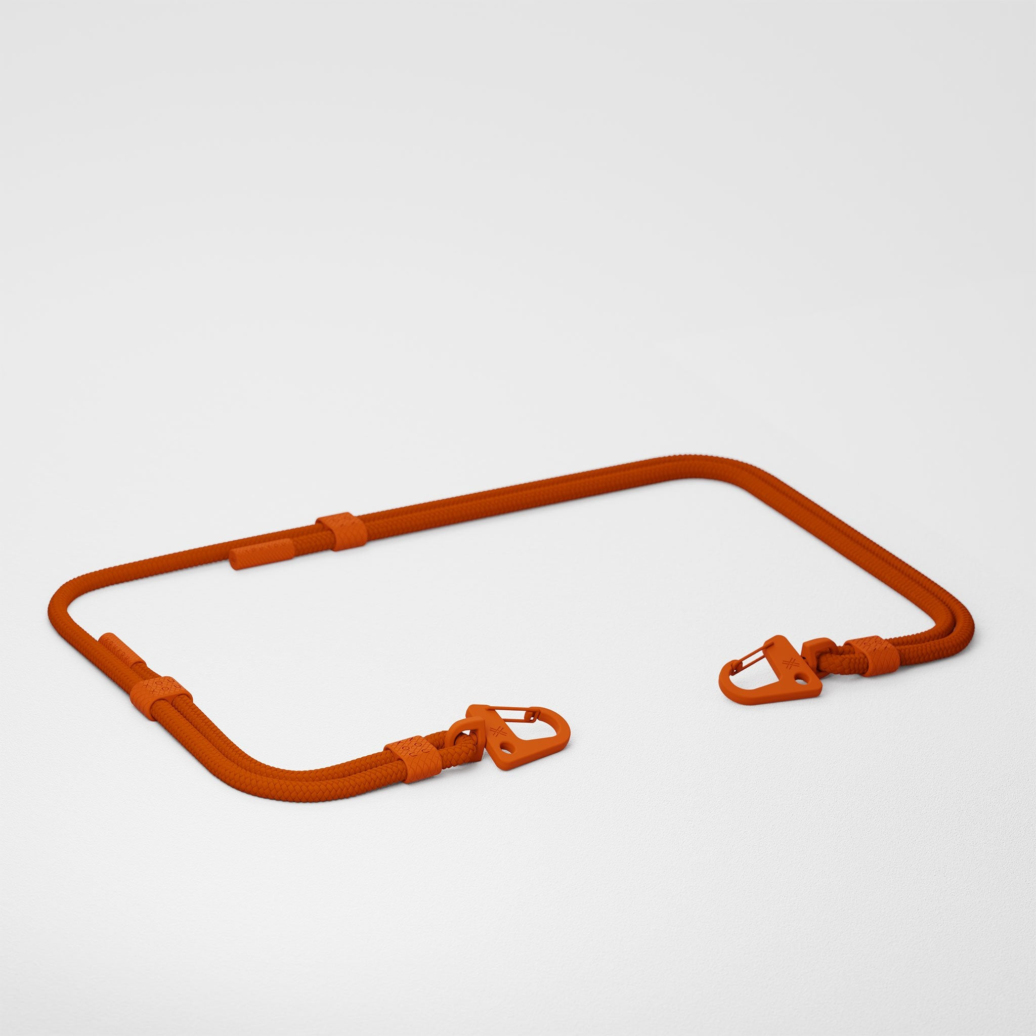 Rusty Red Carabiner Rope