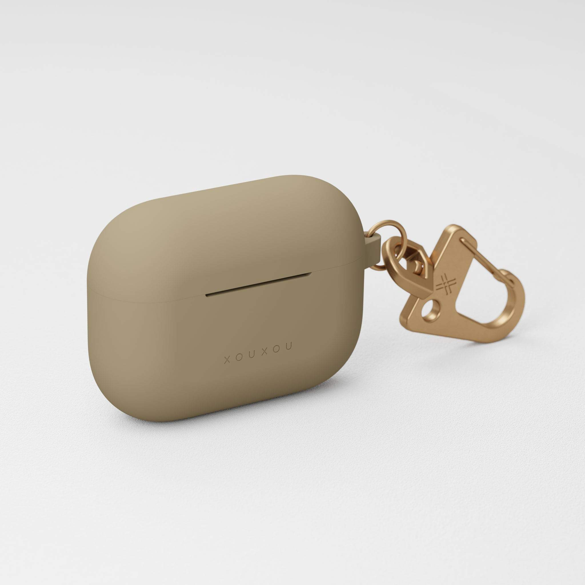 Taupe Silicone AirPods Pro Case