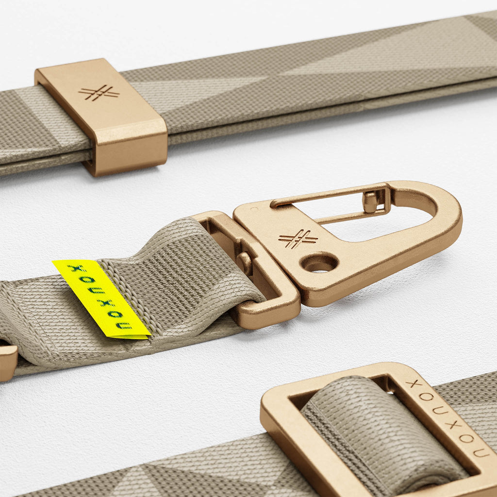 Taupe Gray lanyard for Modular phone case by XOUXOU