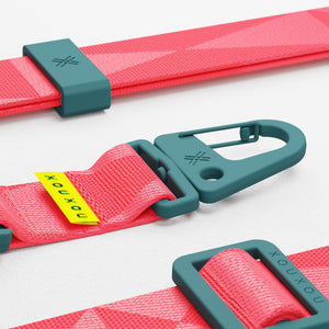 Vibrant Pink lanyard for Modular phone case by XOUXOU