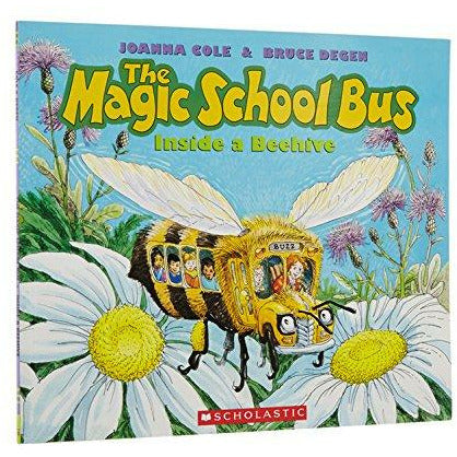 Magic School Bus: Inside A Beehive - 9780590257213 - Scholastic - Menucha Classroom Solutions