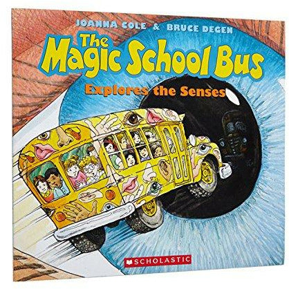 Magic School Bus: Explores The Senses - 9780590446983 - Scholastic - Menucha Classroom Solutions