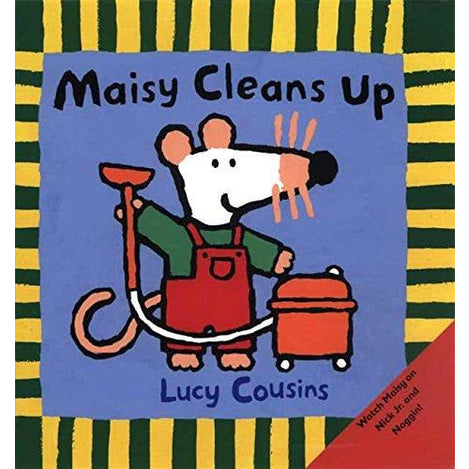 Maisy Cleans Up - 9780763617127 - Penguin Random House - Menucha Classroom Solutions