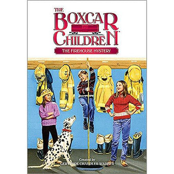 Boxcar Children: #56 The Firehouse Mystery