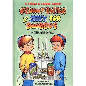 Peanut Butter And Jelly For Shabbos, [product_sku], Hachai - Kosher Secular Books - Menucha Classroom Solutions