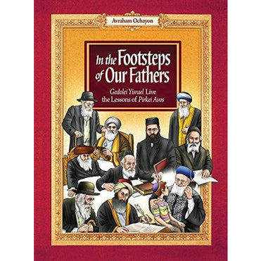 In The Footsteps Of Our Fathers (Red) - 9781598261332 - Feldheim - Menucha Classroom Solutions