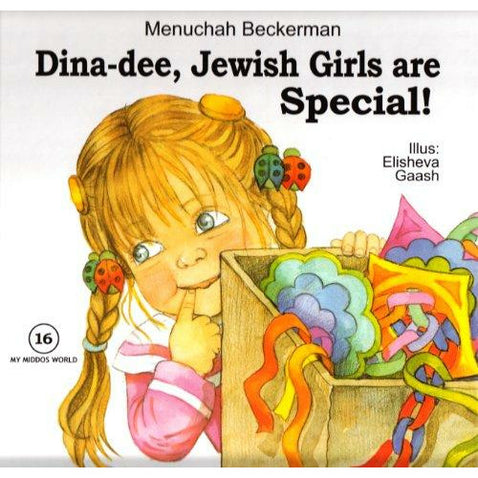 Dina-Dee: Jewish Girls Are Special - 9781600911705 - Ibs - Menucha Classroom Solutions