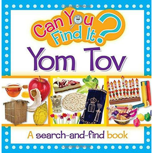 Can You Find It Yom Tov - 9781607631804 - Judaica Press - Menucha Classroom Solutions