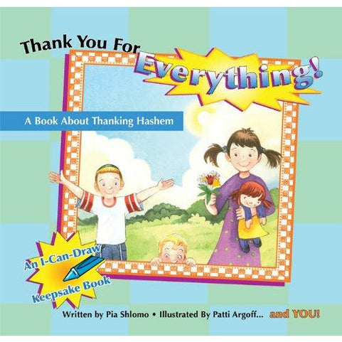 Thank You For Everything - 9781929628636 - Hachai - Menucha Classroom Solutions