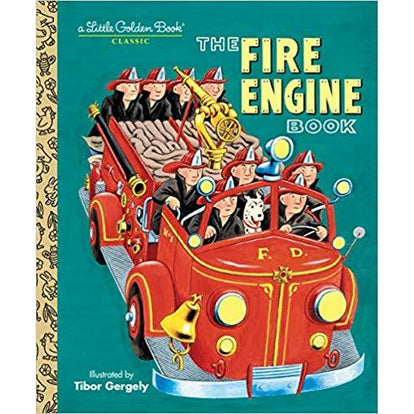 The Fire Engine Book (Little Golden Book) Hardcover