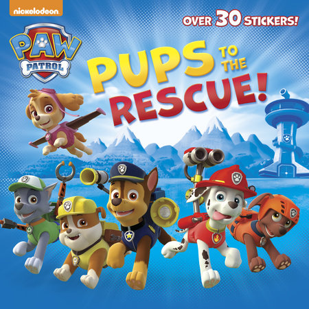 PUPS TO THE RESCUE!-8X8 W/STKR