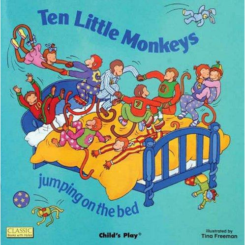 10 Little Monkeys Big Book