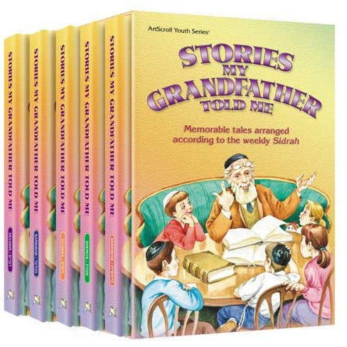Stories My Grandfather Told Me 5 Vol. Set H/c - Artscroll - Menucha Classroom Solutions