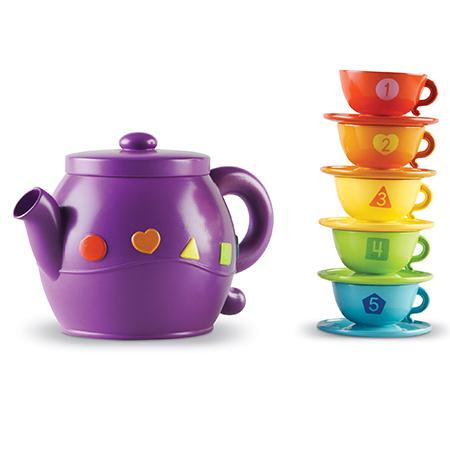 Serving Shapes Tea Set