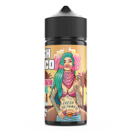 FRESH VAPE CO DOWNTOWN CENTRAL 100ML SHORTFILL E-LIQUID - FRUITY CHERRY LIME COLA MENTHOL DRINK
