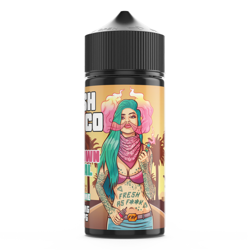 FRESH VAPE CO DOWNTOWN CENTRAL 100ML SHORTFILL E-LIQUID