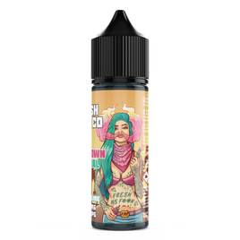 FRESH VAPE CO DOWNTOWN CENTRAL 50ML SHORTFILL E-LIQUID - FRUITY CHERRY LIME COLA MENTHOL DRINK