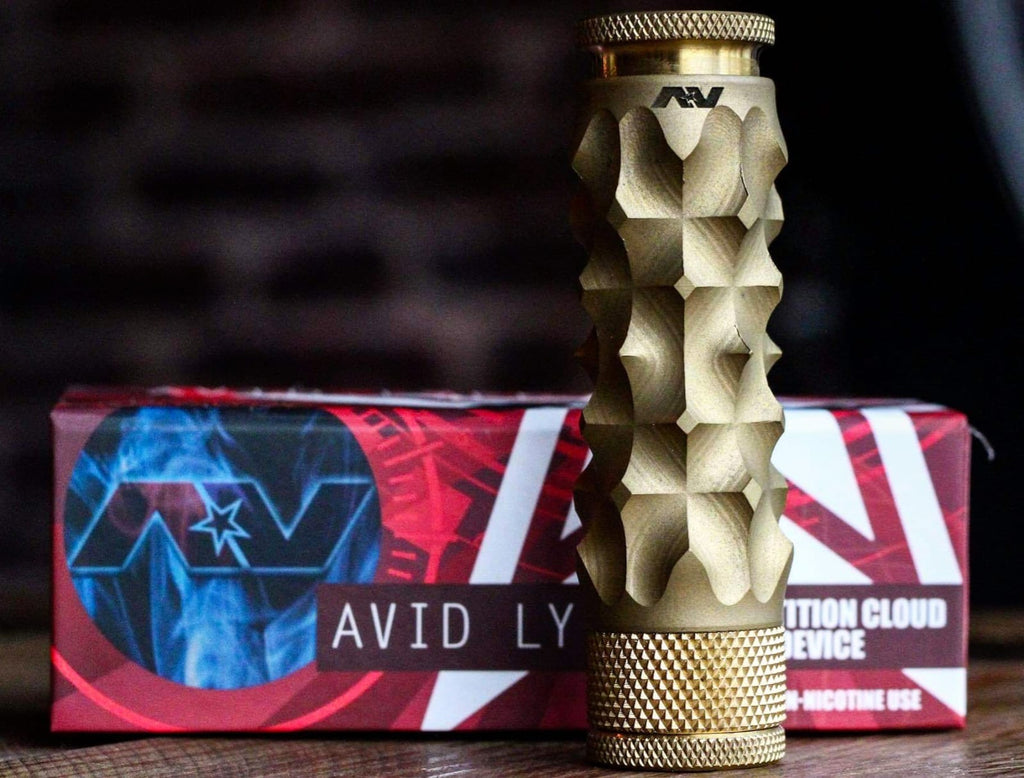 AVID LYFE MECHANICAL MOD BRASS MEDIEVAL