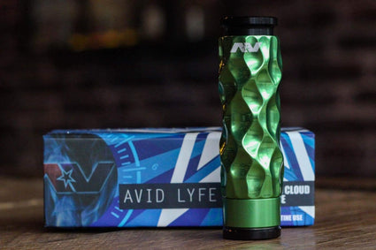 AVID LYFE MECHANICAL MOD GREEN APPLE DIMPLE GYRE