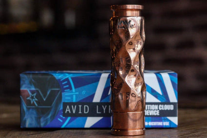 AVID LYFE MECHANICAL MOD COPPER DIMPLE GYRE