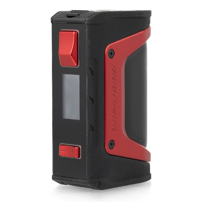 GEEK VAPE AEGIS LEGEND RED 200W DUAL EXTERNAL BATTERY INDESTRUCTIBLE BOX MOD