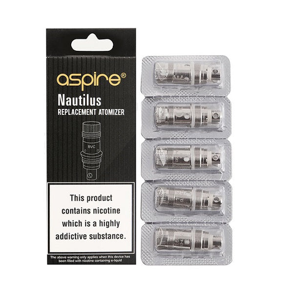 ASPIRE NAUTILUS 1.6 OHM COIL PACK FOR K3 NAUTILUS MINI AIO