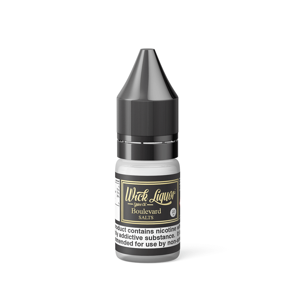 WICK LIQUOR BOULEVARD 20MG 10ML SALT NICOTINE