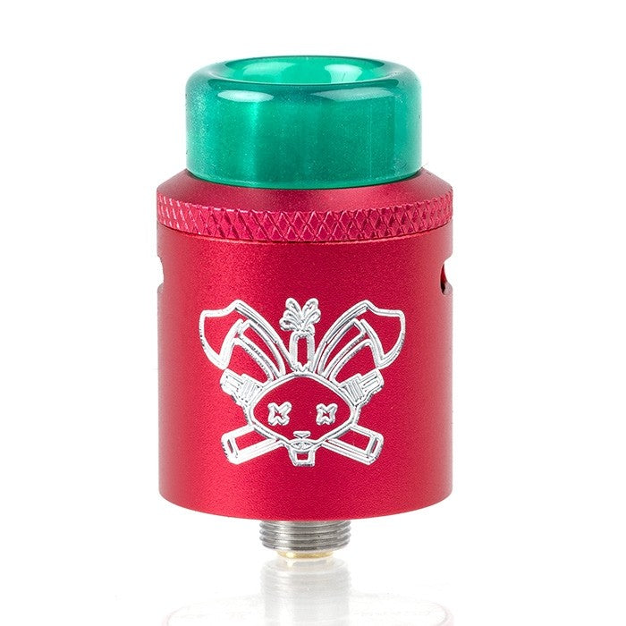 HELLVAPE DEAD RABBIT RED REBUILDABLE SQUONK RDA