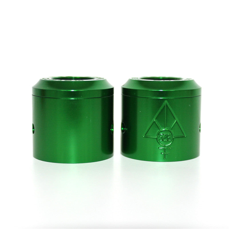 CUSTOM VAPES 24MM GOON GREEN ANODISED CAP