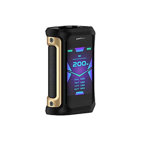 GEEK VAPE AEGIS X 200W - BLACK AND GOLD