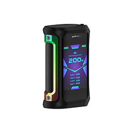 GEEK VAPE AEGIS X BLACK WITH RAINBOW TRIM 200W MOD