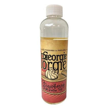 GEORGIE PORGIE STRAWBERRY PUFF PASTRY TART SHORTFILL E-LIQUID 200ML