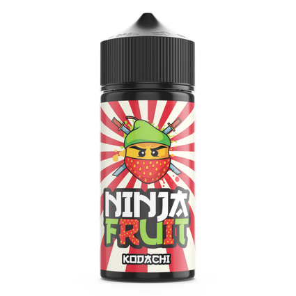 NINJA FRUIT 100ML KODACHI, STRAWBERRY AND PEAR E-LIQUID