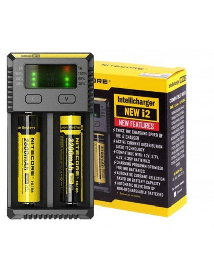 NITECORE i2 EXTERNAL BATTERY CHARGER
