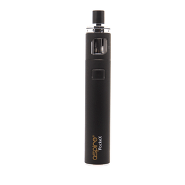 ASPIRE POCKEX BLACK STARTER KIT 1500MAH